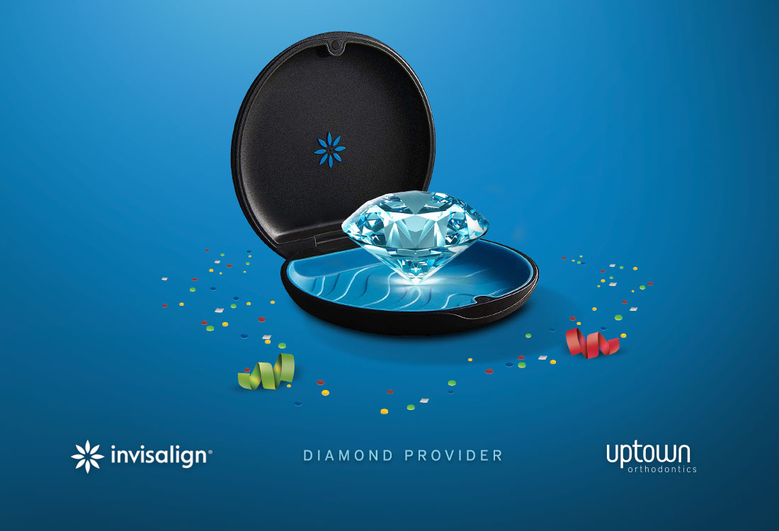 Uptown is an Invisalign Diamond Provider